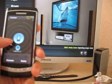 Samsung i8910 Omnia HD - DLNA functionality (lang: Russian)