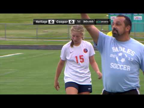 Heritage Christian vs. Cooper Girls High School Soccer