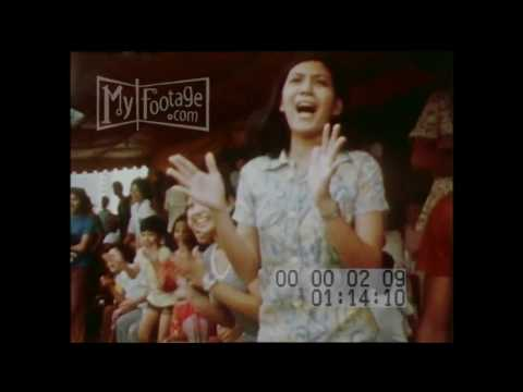 1970s The PHILIPPINES, Pts 1, 2 & 3, a fusion of East and West Stock Footage HD