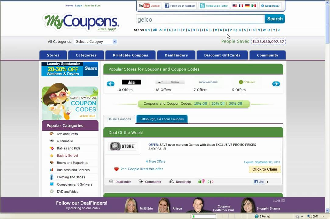 Geico coupons discounts