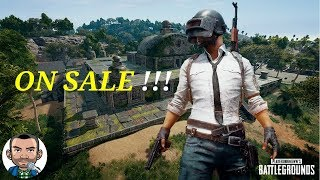 PUBG On Sale (PlayerUnknown