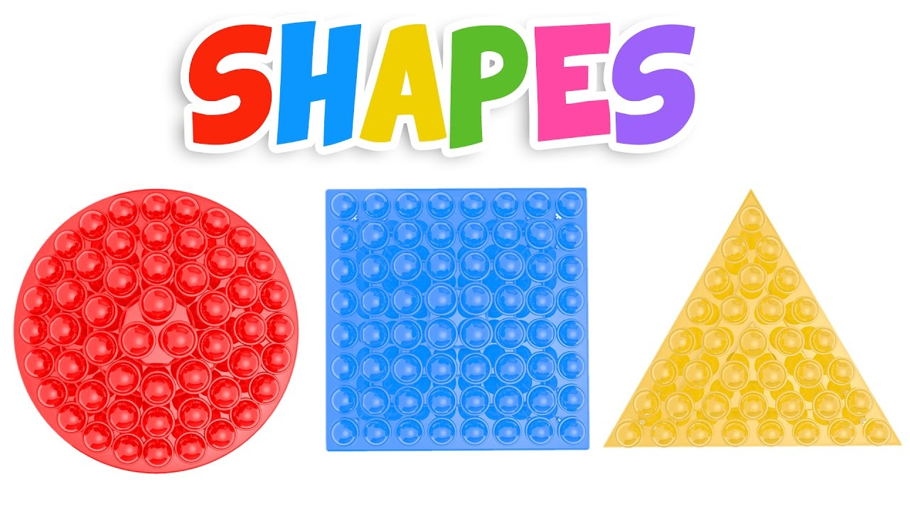Learn Shapes With Lollipops
