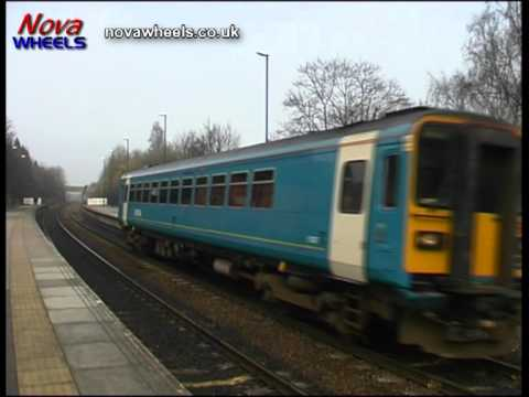 Class 153 DMU 153357 at Conisbrough