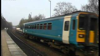Class 153 DMU 153357 at Conisbrough