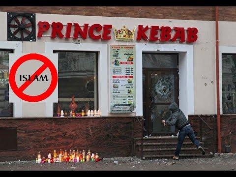 Polish Mob Destroys Kebab Shops after Muslims Kill Local Polish Man