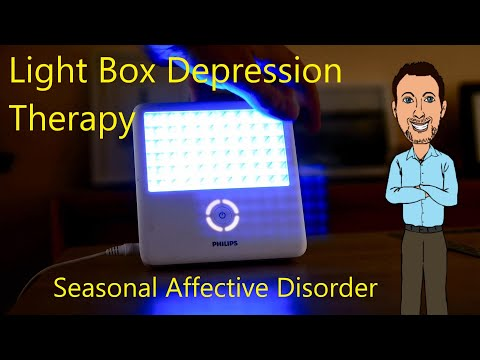Light Therapy Box Treatment For Seasonal Affective Disorder Depression