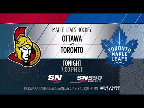 Molson Canadian Leafs Gameday: Ottawa at Toronto - February 10, 2018