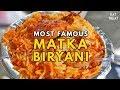 Matka Peer | Best Matka Biryani | Pragati Maidan | Street Food Delhi