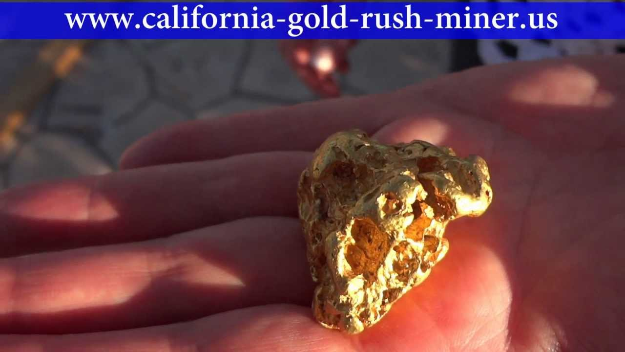 real gold nuggets youtube