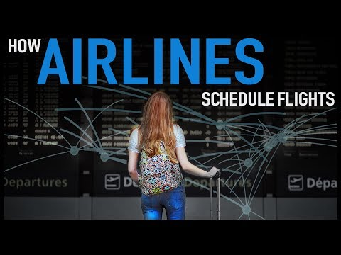 How Airlines Schedule