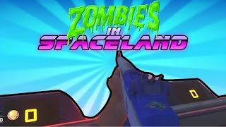 HOW TO RIDE THE ROLLER COASTER - ZOMBIES IN SPACELAND! (Power Switches, Easter Eggs)
