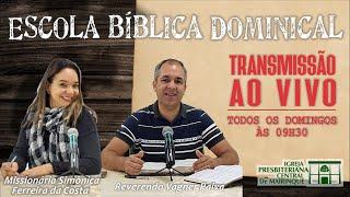 "Escola Bíblica Dominical - ""Da liberdade cristã e da liberdade de conciência"" - 23/08/2020"