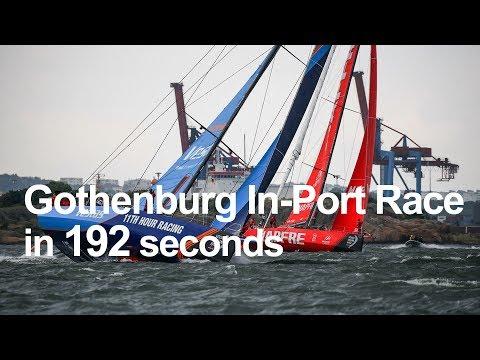 Volvo Ocean Race Gothenburg In-Port Race in 192 seconds | Volvo Ocean Race