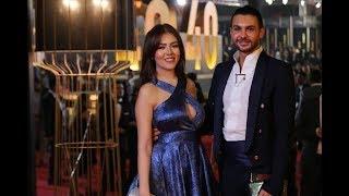 من الشاب الذي اصطحبته رحمة حسن معها في افتتاح مهرجان القاهرة السينمائي؟