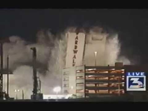 Las Vegas Boardwalk Hotel Implosion KVBC
