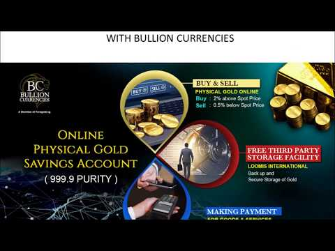 Trading Gold Online Below Market Price With Bullion Currencies