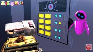 WALL·E | THE MOVIE Game Disney | Episode 10 | ZigZag Kids HD