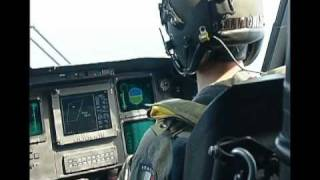 Marina Militare - Operazione di volo a bordo