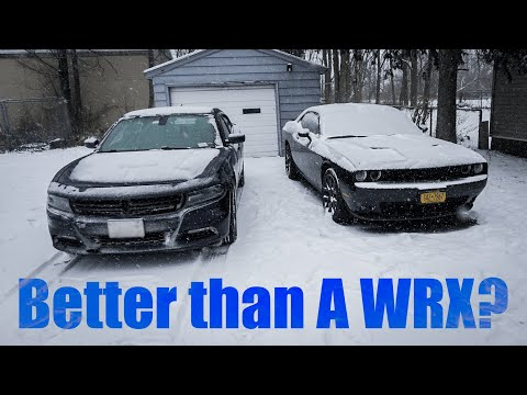 The WRX Of Mopar?  | Dodge Charger SXT AWD In SNOW REVIEW (from A  Challenger RT Owner)!