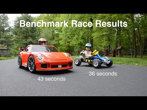 How to Hot Rod a Porsche 911 GT3: 50% Faster (2016 Power Wheels 991)