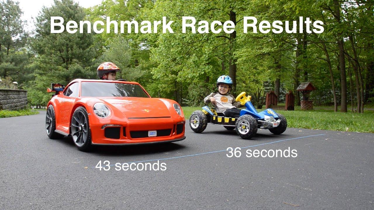 How to Hot Rod a Porsche 911 GT3: 50% Faster (2016 Power Wheels 991)