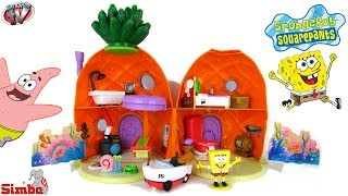 SpongeBob SquarePants Pineapple House Playset Toy Review, Simba Toys