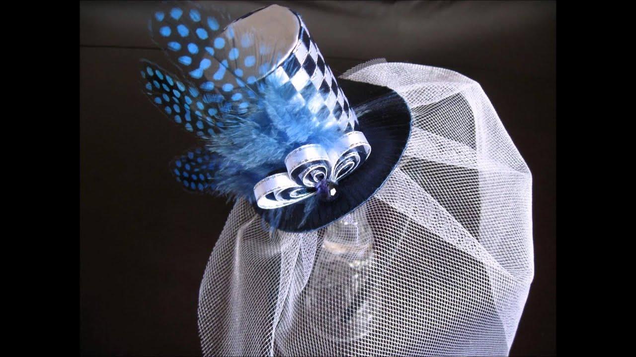 шляпки с вуалью фото