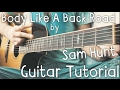 Body Like A Back Road Guitar Tutorial by Sam Hunt // Sam Hunt Guitar Lesson! video & mp3