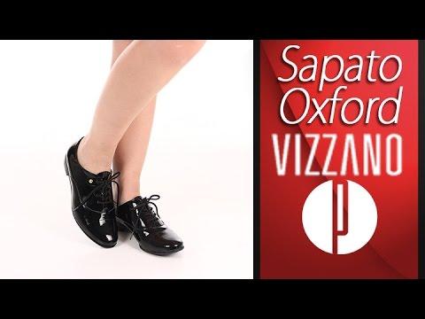 cb847c1cfb Sapato Oxford Feminino Vizzano - 6060336612 - YouTube