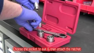 ratchet stud removal sealey ak7232 ratchet stud removal kit