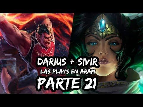 Las Plays En Aram | League Of Legends #21 Darius + Sivir