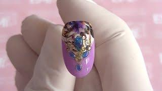 3D-дизайн ногтей! Мастер-класс Gemty Gel.