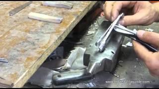 Comment fabriquer et assembler un couteau Laguiole ?