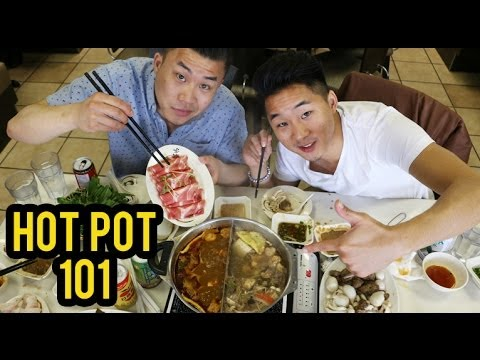 HOW TO EAT HOT POT! (Chinese Hot Pot 101) - Fung Bros Food