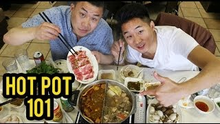 HOW TO EAT HOT POT! (Chinese Hot Pot 101) - Fung Bros Food thumbnail