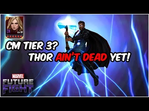 Thor Deserves One More Chance at GLORY!! Captain Marvel Update - Marvel Future Fight