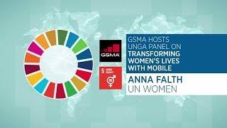 UNGA Panel: Anna Falth