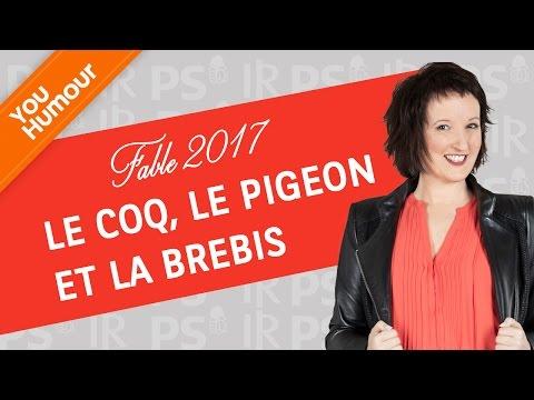 ANNE ROUMANOFF - Fable 2017 Le coq, le pigeon et la brebis