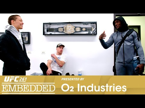 UFC 261 Embedded: Vlog Series - Episode 1