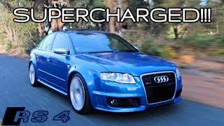 535HP! MTM SUPERCHARGED B7 AUDI RS4 REVIEW!
