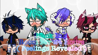 Stuck In A Room For 24 Hours Challenge || ( True Feelings Revealed ) || The Four || Gacha Life ||Gay