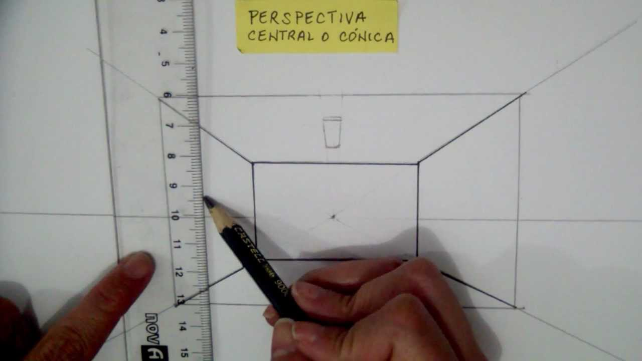 Como dibujar en perspectiva tutorial largo perspectiva for Dormitorio para dibujar facil