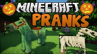 Pranks Gone Wrong | Minecraft Halloween Fun