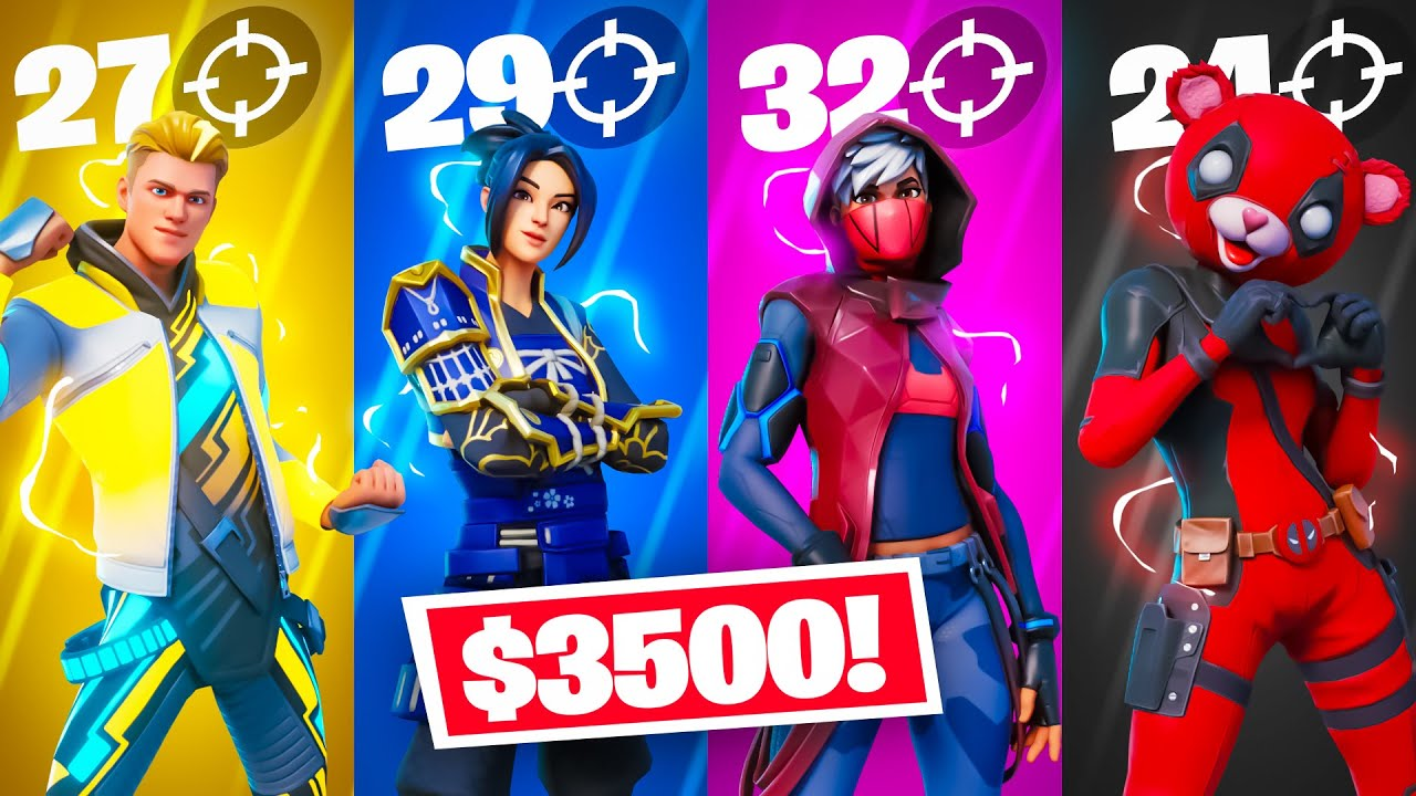 Download Fortnite but the Most Eliminations = $3500