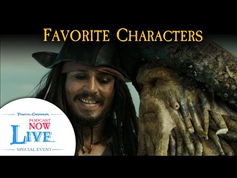 Favorite Characters - Pirates of the Caribbean Podcast (PNL Ep.45 Pt.2)