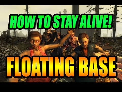 7 Days To Die   Magic Floating Base   Tower of POWER !!!