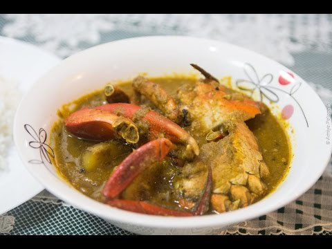 Clean and Cook Crab Curry (Odiya Style)