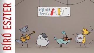 Bíró Eszter: Állati zenés ABC - trailer (gyerekdal, mese)