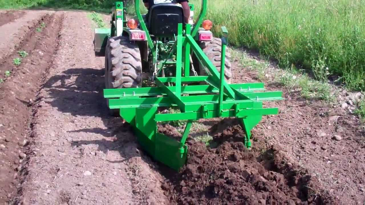 Raised Bed Cultivator