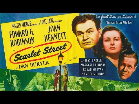 Scarlet Street 1945 Trailer HD